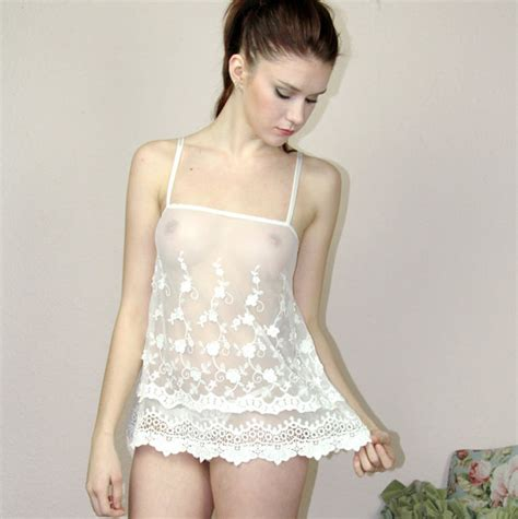 images of women in sheer nightgowns sheer lingerie camisole in cotton embroidery bridal lace