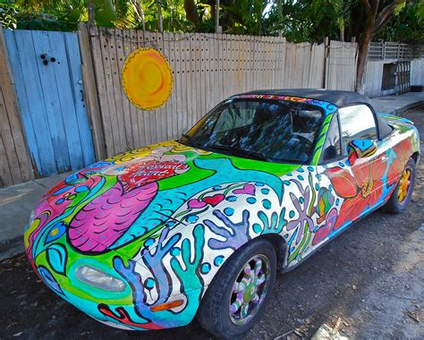 painting car colourful key west part ii painted cars of the