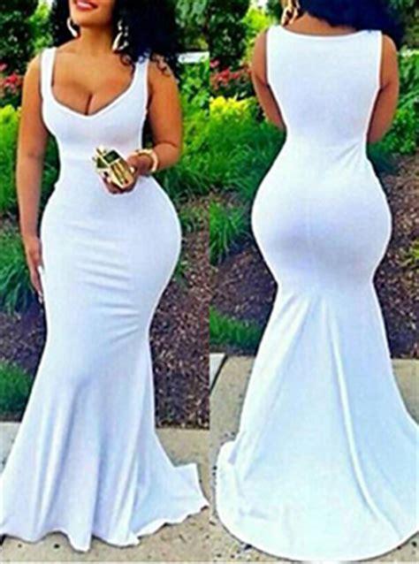 Dress Maxi Dress 27419 Blue White Summer Totem S M L Dress maxi dress white lace top pink skirt sleeveless