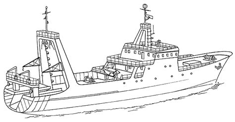 how to draw a cargo boat drawn oat big boat pencil and in color drawn oat big boat
