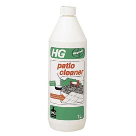 hg patio cleaner brick cleaner 1l
