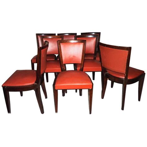 1950s dining room furniture mid century modern set of eight dining room chairs 1950s for sale at 1stdibs