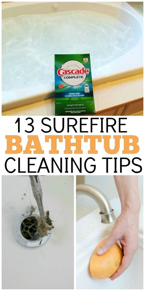 tips for cleaning bathtub 13 simple bathtub cleaning tips for totally gunky tubs