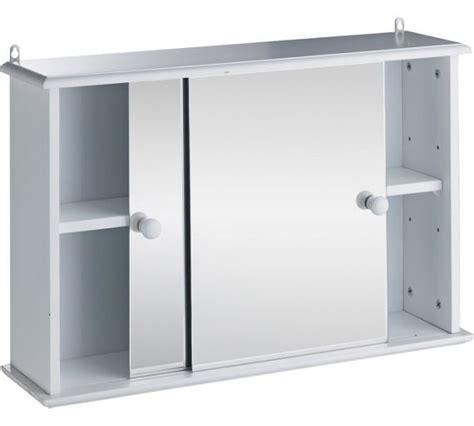 sliding door bathroom cabinet white buy home sliding door bathroom cabinet white at argos co