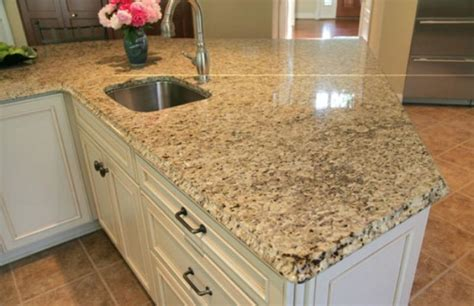 venetian gold granite kitchen countertops with white