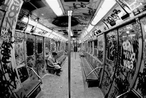 underground tattoo nyc graffiti inside subway train expression street art