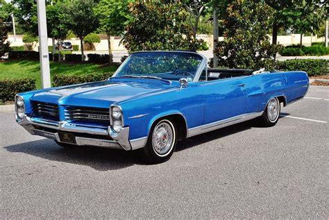 1964 Pontiac Bonneville Convertible by Daily Turismo 15k Blue Steel 1964 Pontiac Bonneville
