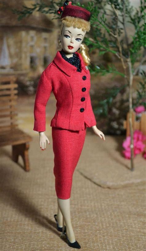 396 best images about barbie vintage on pinterest vintage barbie in ooak red variation of career girl