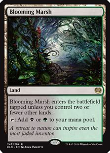 Marsh Gift Card - blooming marsh magic card