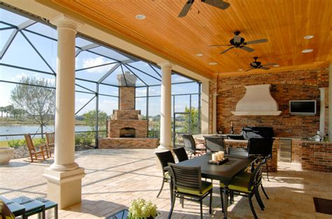pools patios porches mediterranean porch orlando