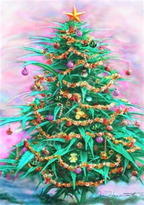 german police seize marijuana christmas tree toke of the