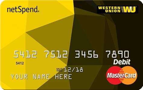 Western Union Mastercard Gift Card - sign up now western union netspend prepaid mastercard