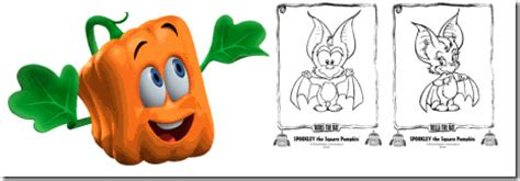 Kidtoons Spookley The Square Pumpkin Giveaway 2 Boys Spookley The Square Pumpkin Coloring Pages