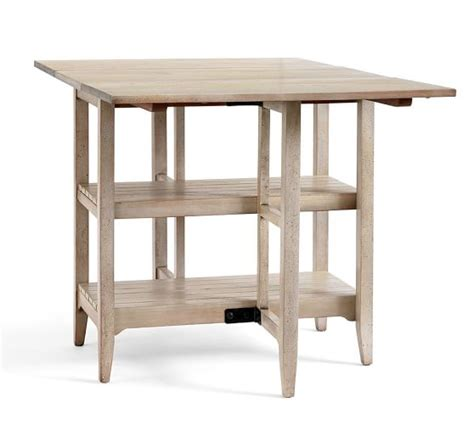 gateleg storage table gateleg storage table pottery barn