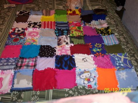 Patchwork Rag Quilt - patchwork rag quilt year 2 by chibishinigami on deviantart
