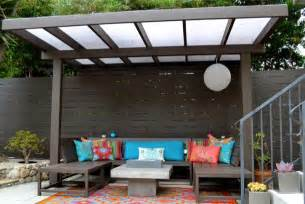 Modern Outdoor Pergolas by Modern Pergola W Plexiglass From Harwell Fencing Amp Gates