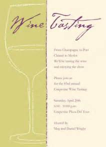 wine tasting invitations template best template collection