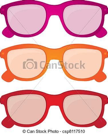 clipart occhiali clipart vettoriali di occhiali da sole vettore colorito