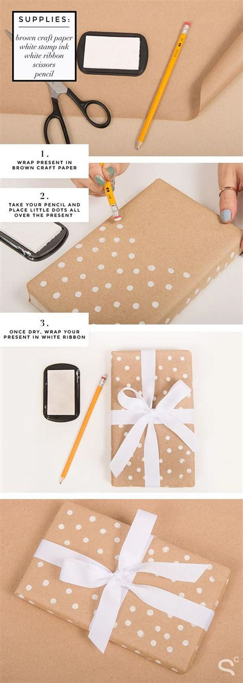 52 insanely clever gift wrapping ideas you ll page - Polka Dot Gift Wrap