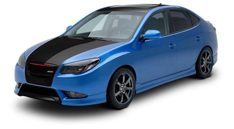 Custom Hyundai Elantra by Elantra Custom Bodykit Wiring Library