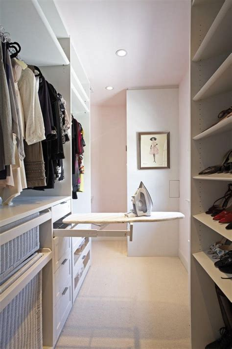 Ironing Board Closet by Pull Out Iron Board Ideas For Master Closet Renovation