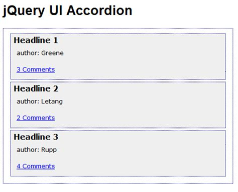 div accordion javascript is there an easier way with jquery accordions