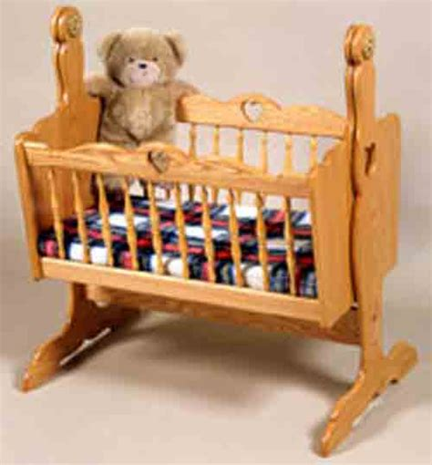 dolls swinging crib doll cradle plans includes free pdf download