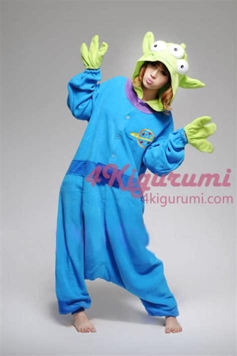 Party City Christmas Costumes - little green men kigurumi animal onesie 4kigurumi com