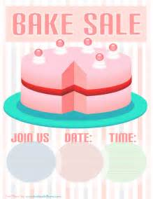 Bake Sale Flyer Free Template by Bake Sale Flyer Template Pink Cake Bake Sale Flyers