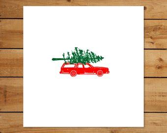 griswold car with christmas tree pics tree car etsy