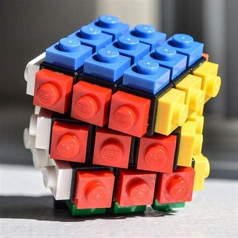 How To Make A Rubik Cube Out Of Paper - rubrick cube is a fully functional lego rubik s cube