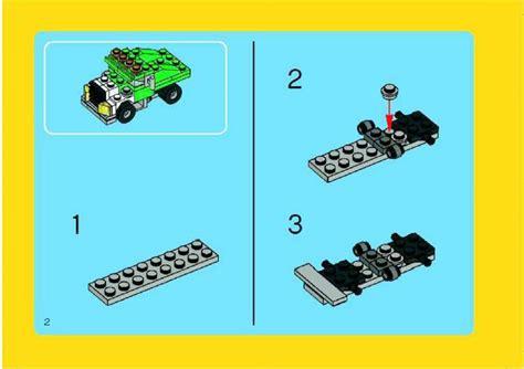 Lego 5865 Mini Dumper lego mini dumper 5865 creator