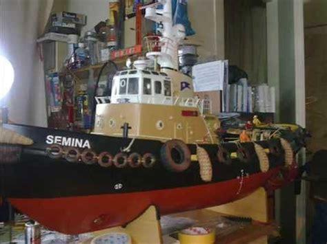 tugboat odin rc tug boat odin youtube