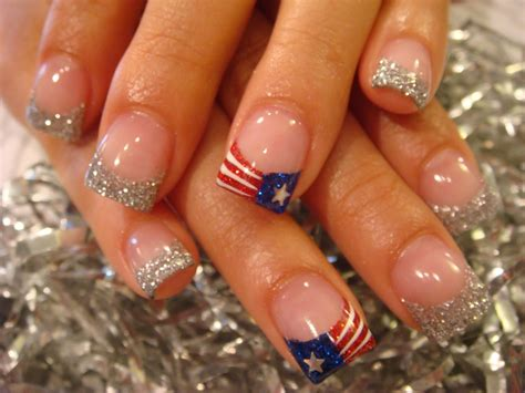 red acrylic 4th of july nils peace love and happy toes acrylic nails acrylic