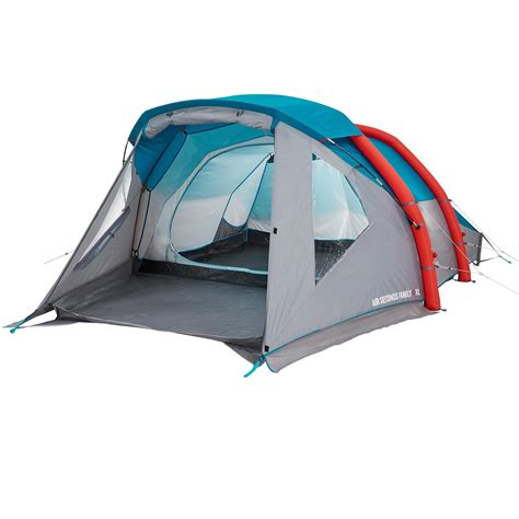 quechua tenda air seconds family 4 xl family cing tent 4 persons