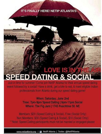 Atlanta speed dating