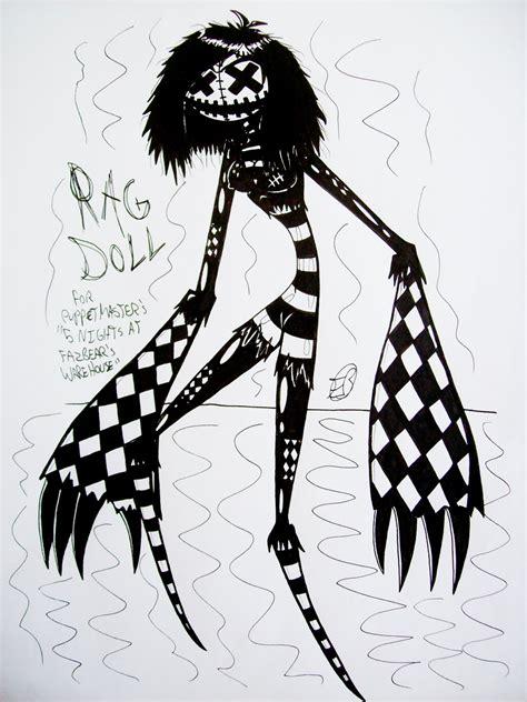 rag doll quotev 5 nights at fazbear s warehouse
