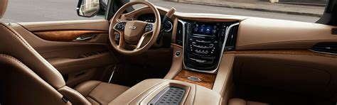 cadillac escalade ext interior cadillac 2017 escalade interior photos