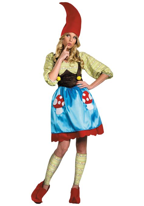 garden costume ideas miss gnome womens costume garden decor costumes