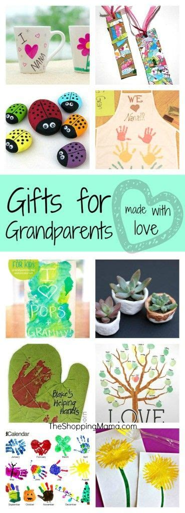 grandparents grandparents day and handmade gifts on