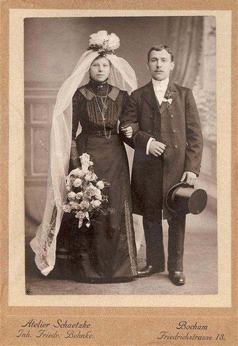Brautkleider Um 1900 by Familysearch Germany Familytree