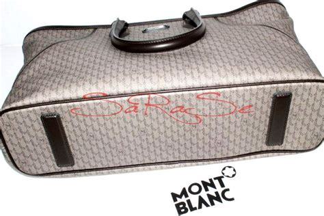 Bag Mont Blanc 2 Zipper montblanc signature carry bag handbag with