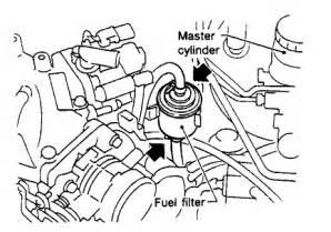 2000 Nissan Altima Fuel Filter 1999 Nissan Altima Fuel Filter Location Get Free Image