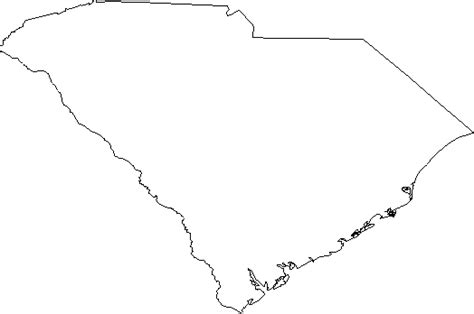 blank map south carolina best photos of south carolina map outline south carolina