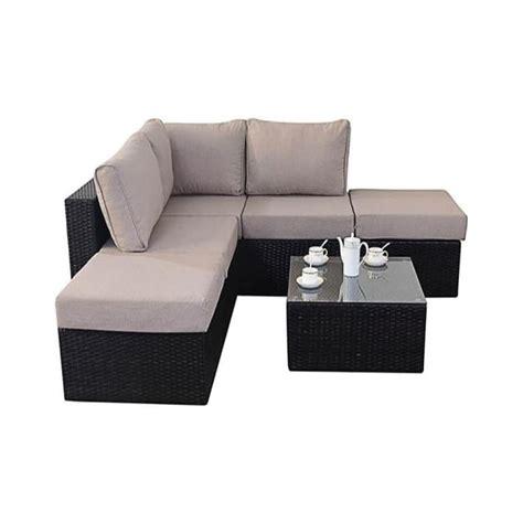 small corner couch port royal garden furniture luxe small corner sofa set