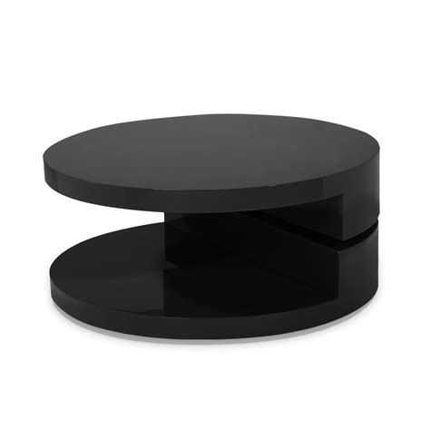 Table Ronde Noir by Table Basse Ronde Laquee Ezooq