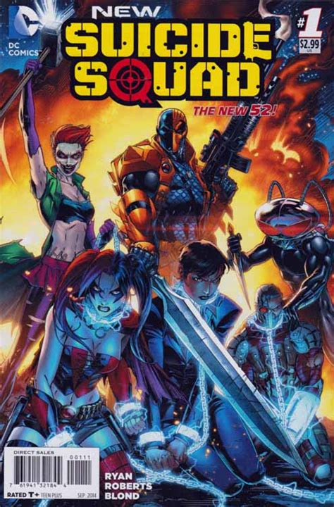 Kaos Black Squad new squad comic book new squad 1 joker