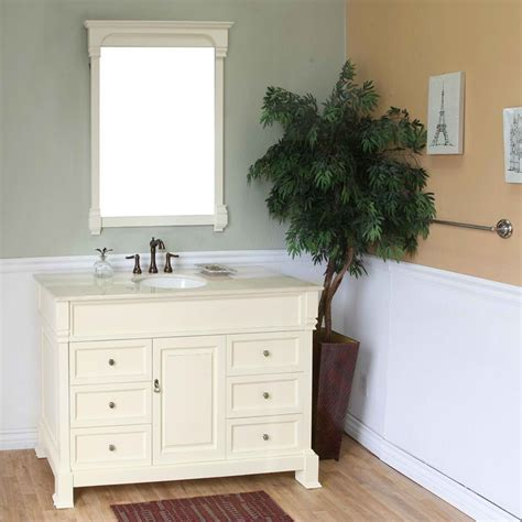 harlow single 50 inch traditional bathroom vanity