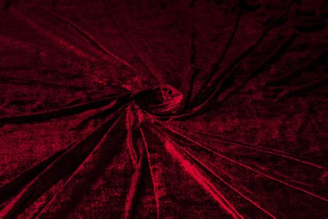 Upholstery Velvet Fabric Wholesale Royal Red Velvet Fabric Deep Red Velvet Half 1 2 Yard