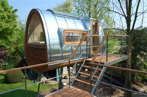 drawbridge style stairs lift up to secure treehouse retreat tree house ideas for home garden bedroom kitchen